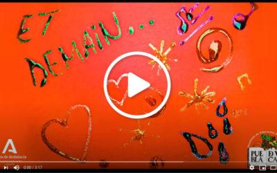Lip dub «Et demain» alumnos/as sección bilingüe de francés del IES La Puebla